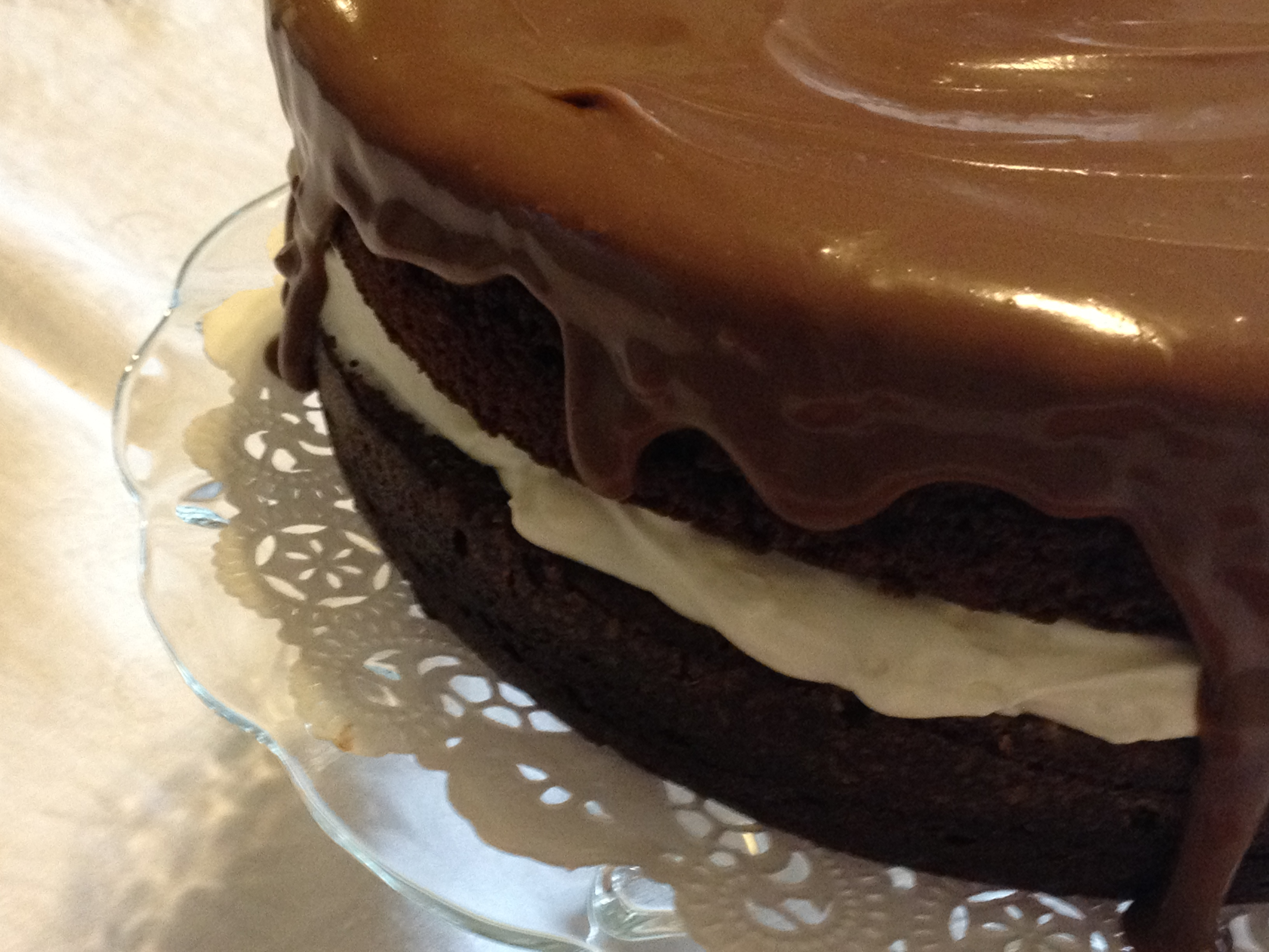 Espresso Chocolate Cake With White Chocolate Mascarpone Frosting ...