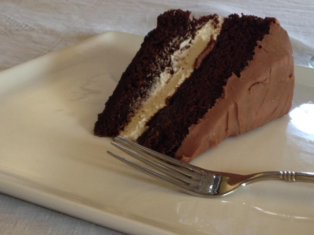 Triple Chocolate Cake (2/2)