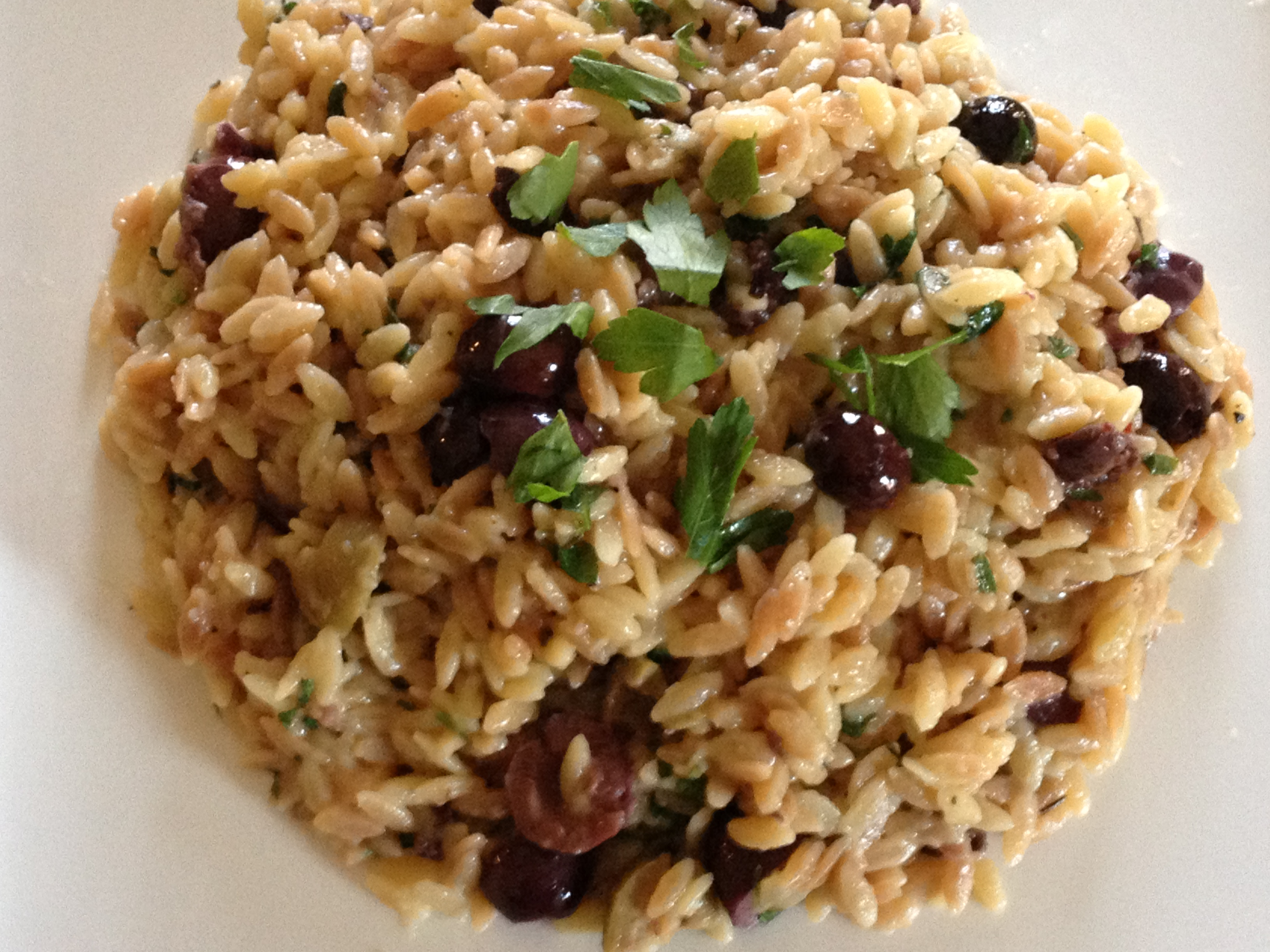 Toasted Orzo With Olives And Lemon Recipe — Dishmaps