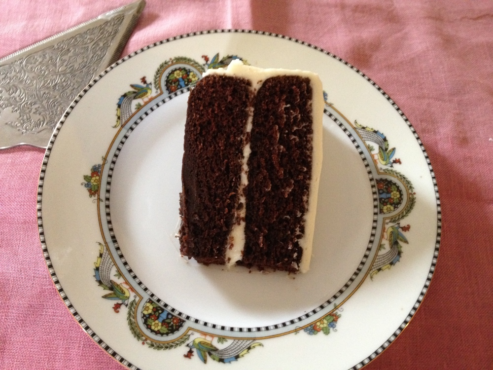 Featured Recipe: Chocolate Stout Cake With Cream Cheese/Mascarpone Frosting (3/3)