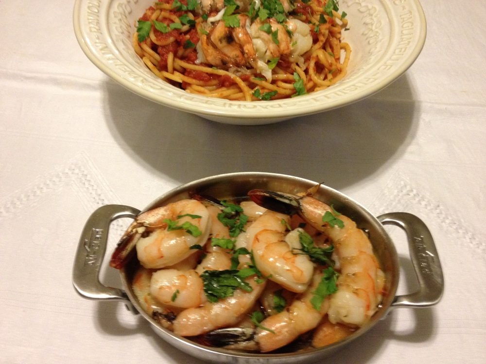 Featured Recipes: Olive Oil Poached Fish/Shellfish and Lobster Diavolo (3/3)