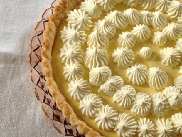 Mango Cream Tart