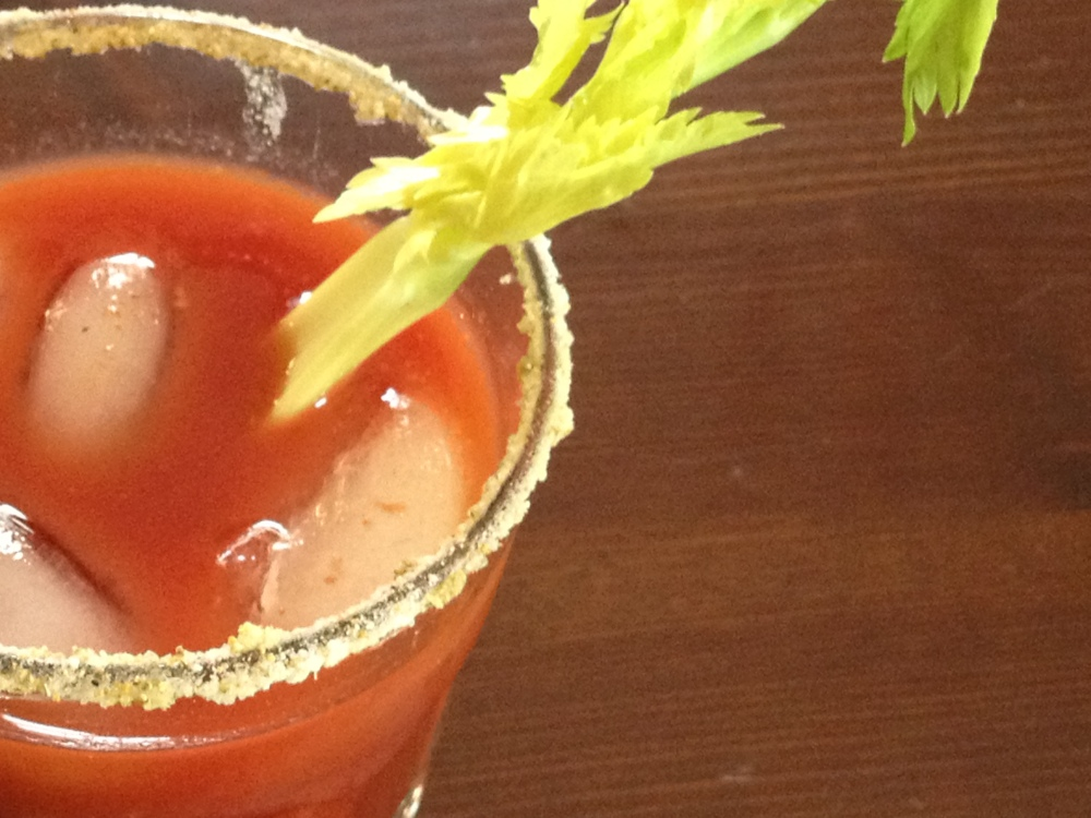 Marx Food Cocktails And Mocktails Recipe Contest-Bloody Mary And Plum Juniper Berry Fizz (1/2)