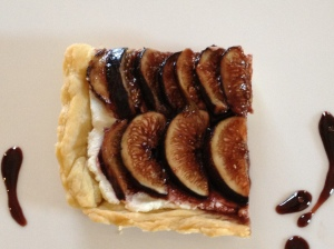 Mosto Cotto Fig And Goat Cheese Tart