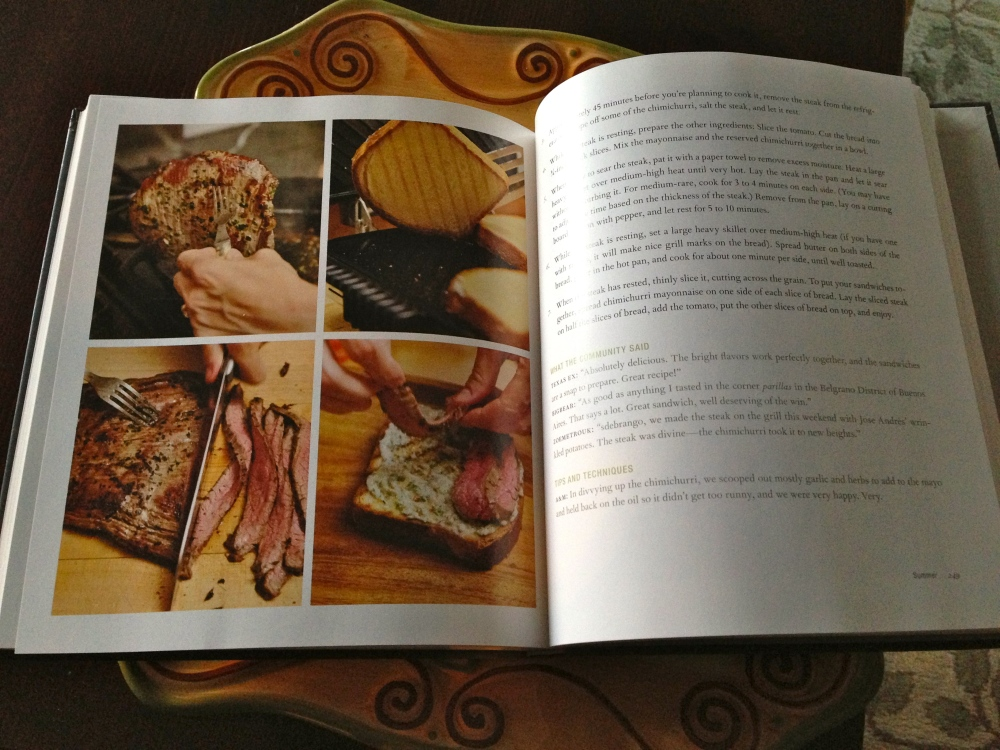 My Recipe Is Published!! (3/3)