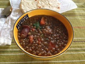 Lentil Soup hearty and delicious!