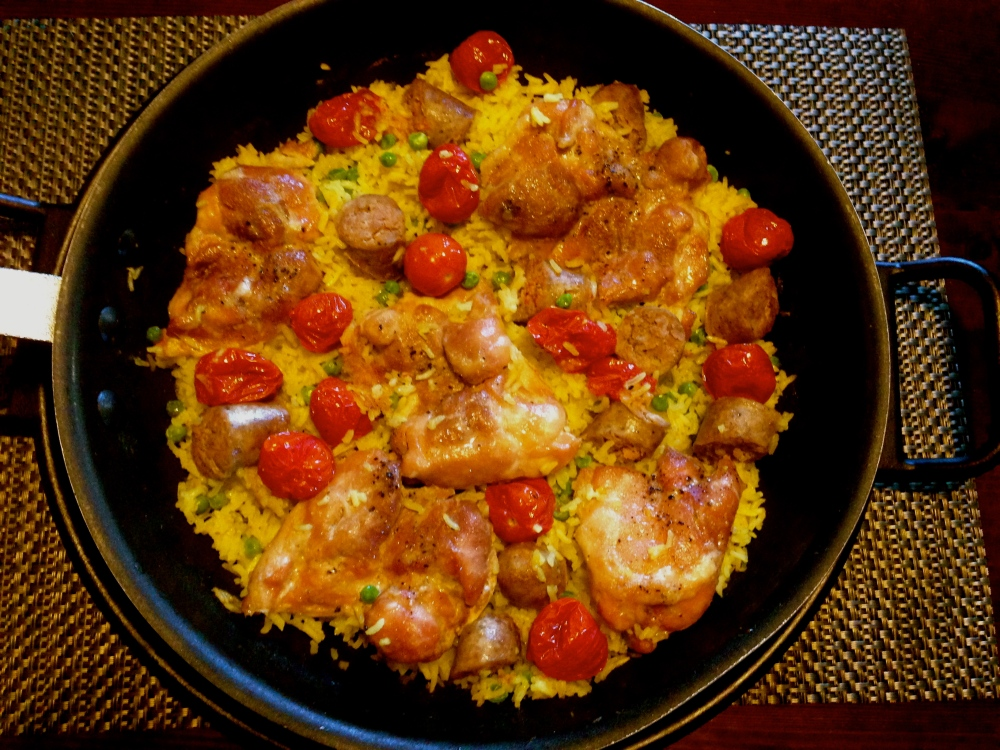 Chicken And Sausage Paella, A Guest Post-Wine Pairing  (1/3)
