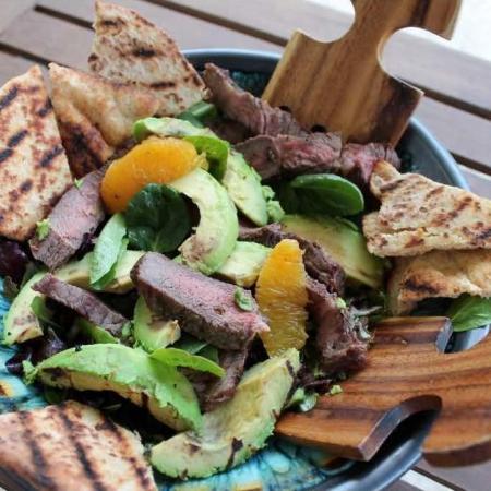 Cali Avocado Steak Salad