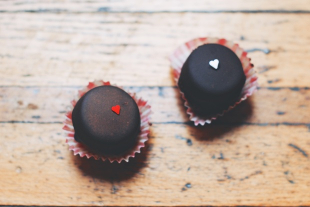 Aleksandra's chocolate bites photo by Cristina