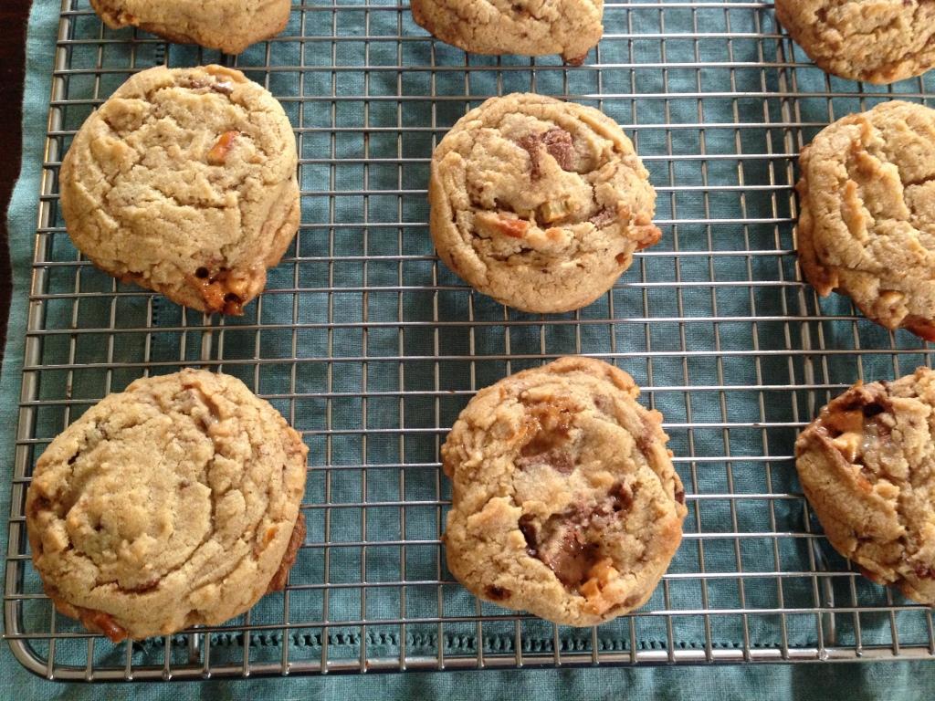 pretzel,snickers Cookies