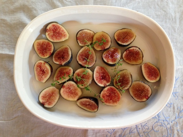 Lovely figs before roasting