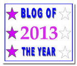 Blog of the year award