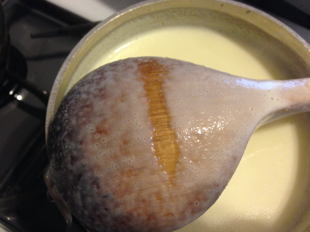 custard is done
