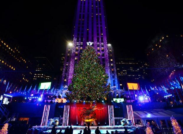 NY Daily News Photo of Tree at Rockefeller Center 2013