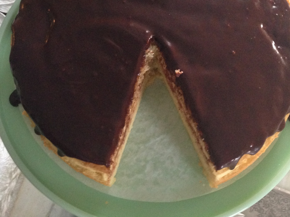 The Basics- Creme Patissiere, Genoise And A Boston Cream Pie (5/6)