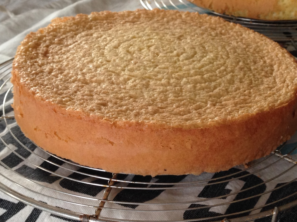 Genoise Or Sponge Cake- Another recipe