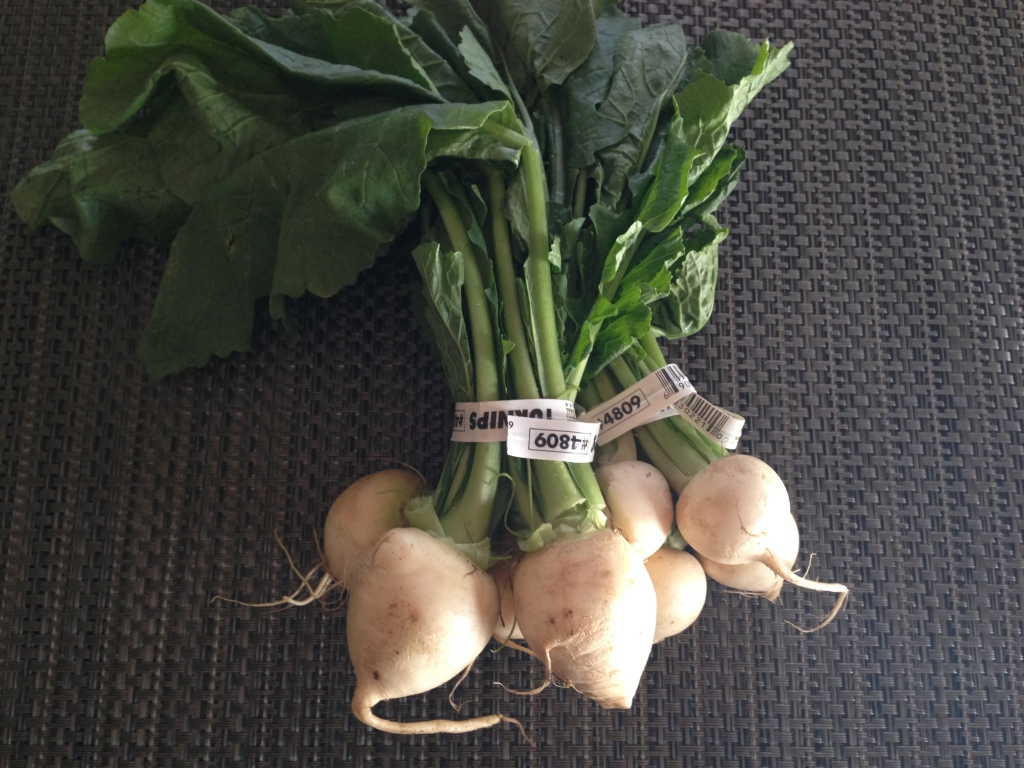 Spring Turnips