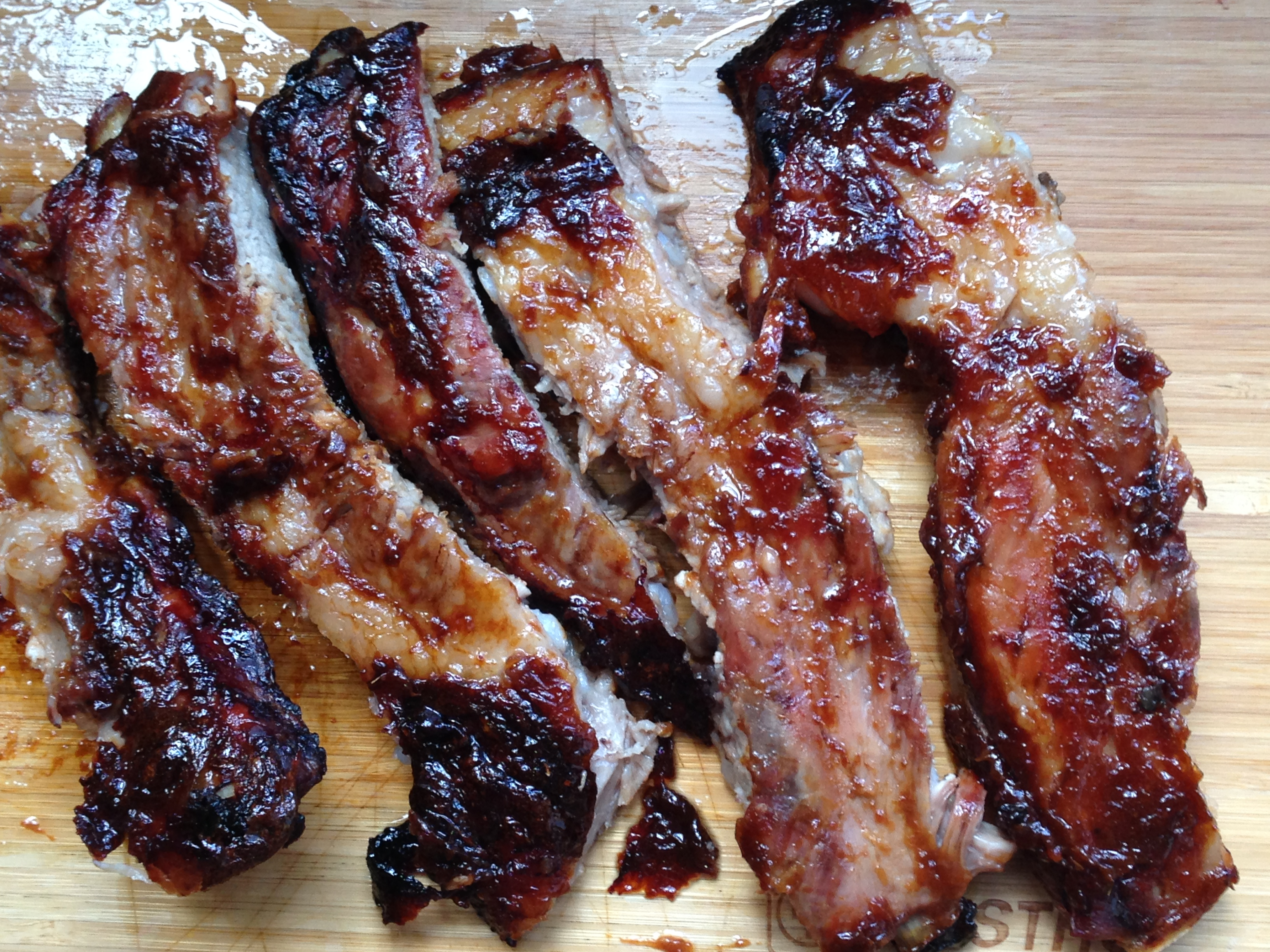 Chinese Spare Ribs For Fiesta Friday #19