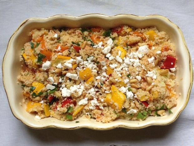 Cous Cous loaded with Vegetables
