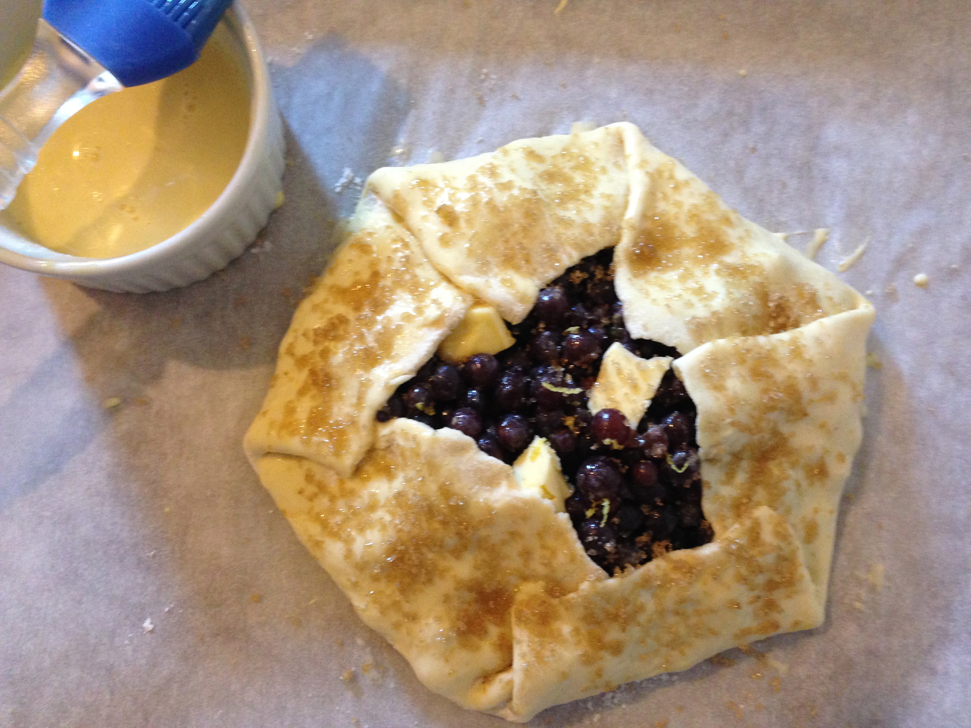 Grape Galettes Recipe — Dishmaps