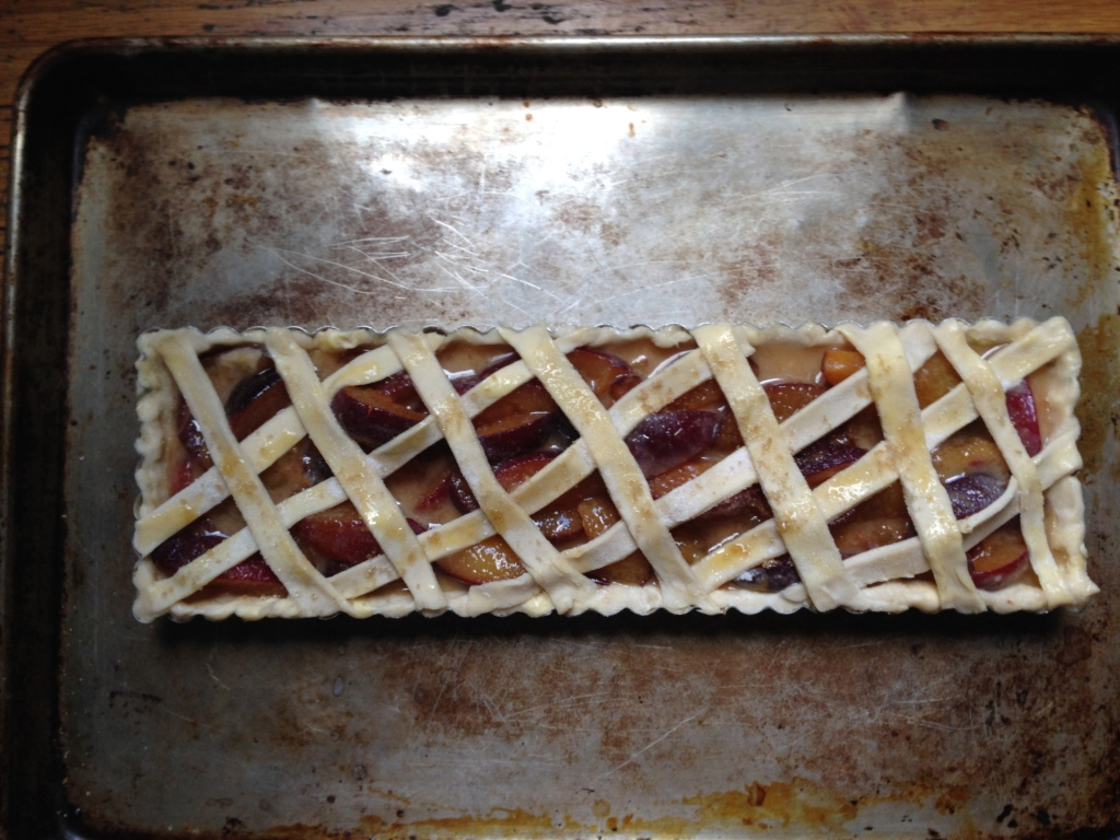 Unbaked lattice top