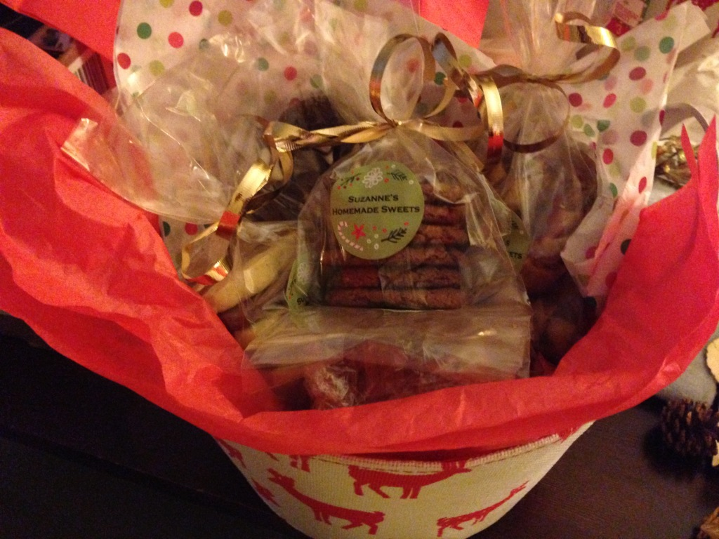 One gift basket