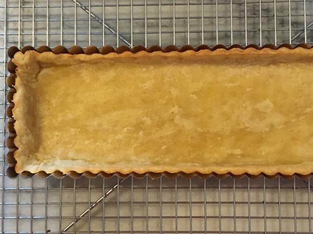 Blind baked