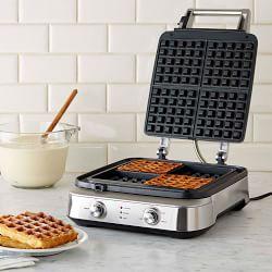 Handsome waffle maker