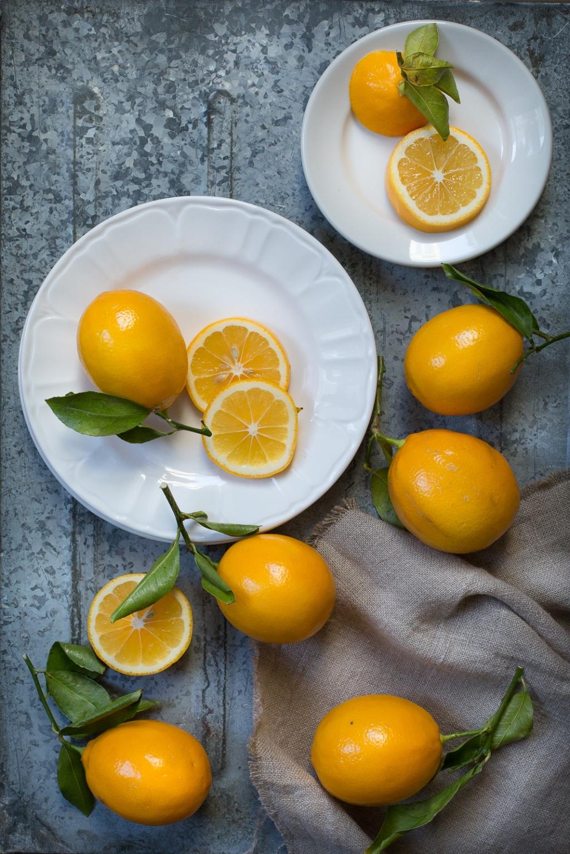 meyer lemon cornmeal and rosemary cake-3