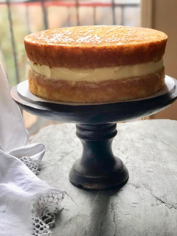Boston Cream Pie Apuginthekitchen